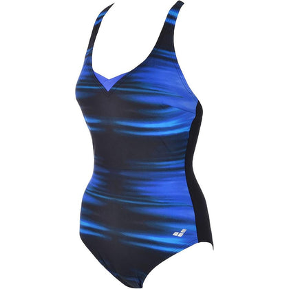 Arena KATE Light Cross Back - Women's Swimwear with C cups - Blue/Black