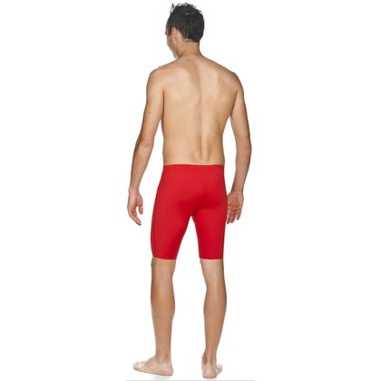 Arena Solid Jammer Men's Swimwear - Red