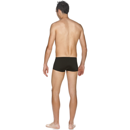 Mustang Arena Solid Squared Short Men's Swimwear - Black