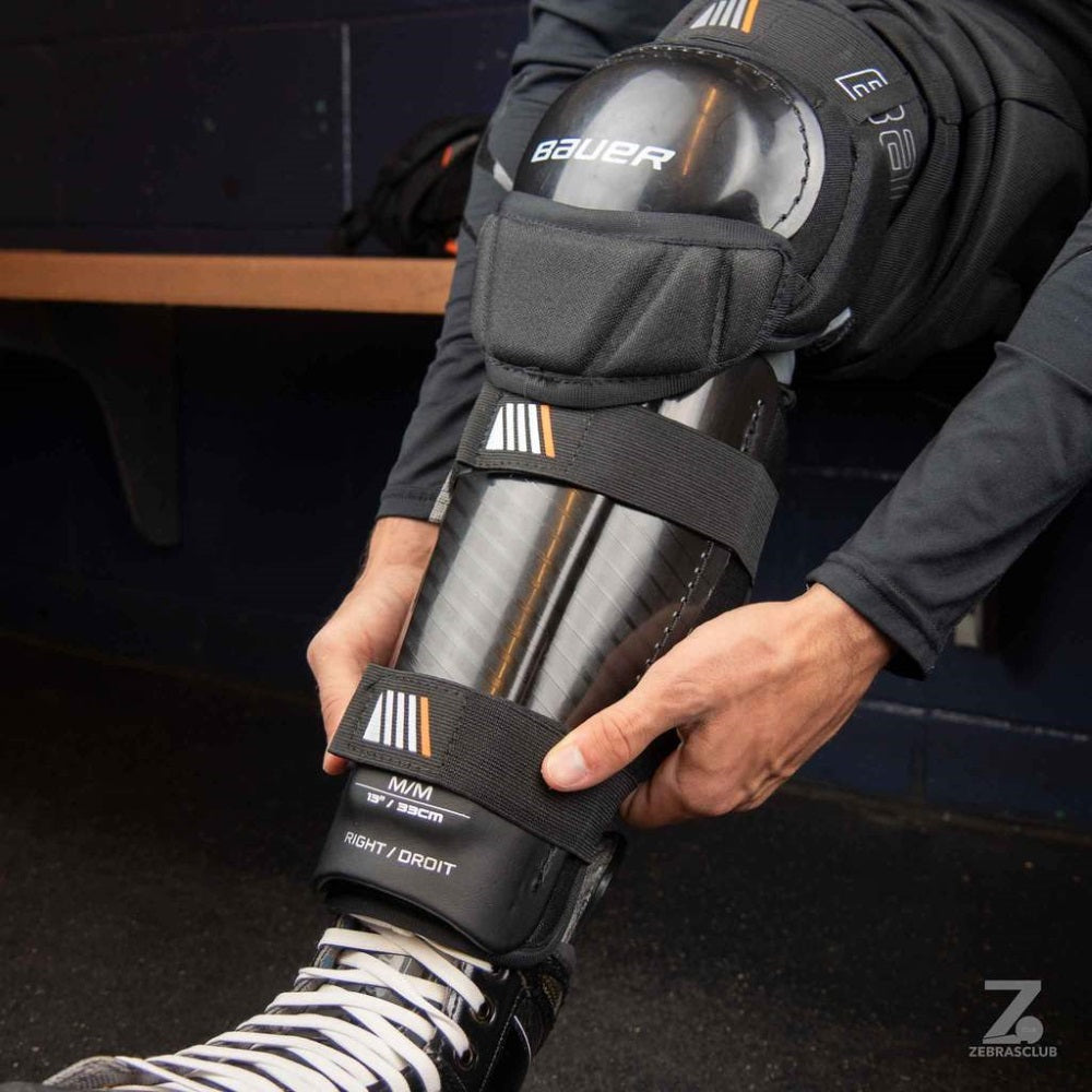Bauer Hockey Referee Shin Guards