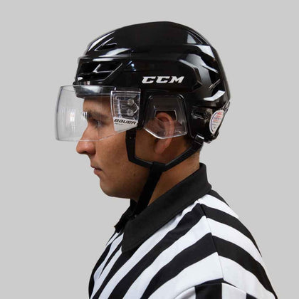 Bauer Pro Straight Hockey Visor With Fast Clip