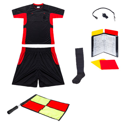 Essential Combo for Soccer Referees - Black