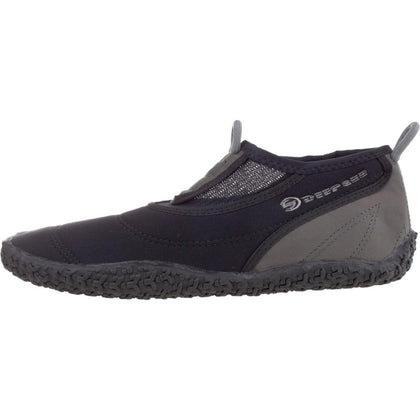 Deep See BeachWalker - Water Shoes - Black / Silver