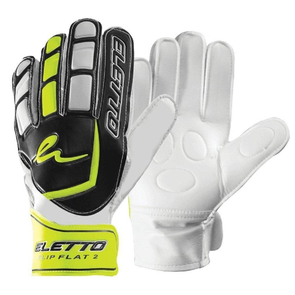 Flip Flat 2 Goal Keepers Gloves - Eletto - Black/Yellow