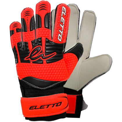Eletto Force Flat 3 - Goalkeeper Gloves - Orange/Black