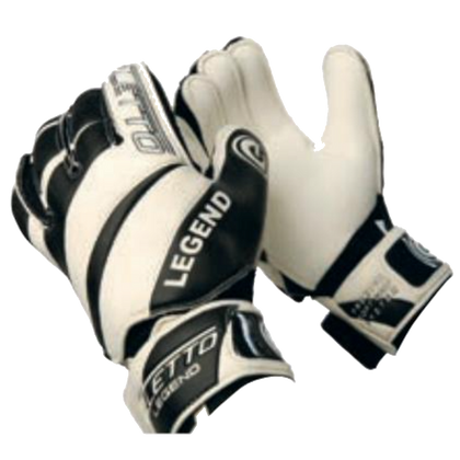 Legend Goal Keepers Gloves - Eletto - White/Black