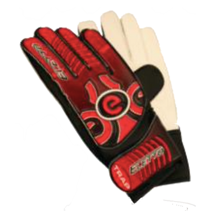 Trap Goal Keepers Gloves - Eletto - Red/Black