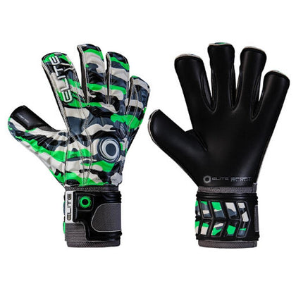 Combat Goal Keepers Gloves - Elite Sport - Green