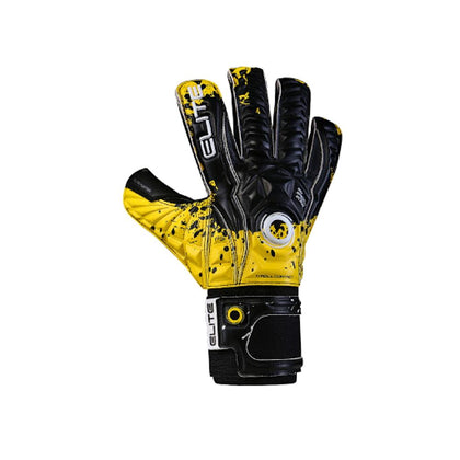 Hunter Goal Keepers Gloves - Elite Sport - Yellow/Black