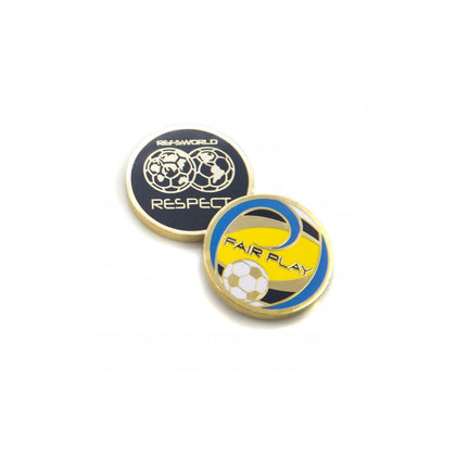 FIFA Referee Flip Coin - Both Sides