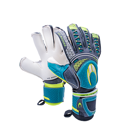 Ikarus Roll Flat Goal Keepers Gloves - HO Soccer - Green