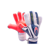 Pro Saver Negative Warning Goal Keepers Gloves - HO Soccer - White/Blue/Red