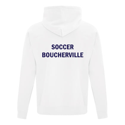 Soccer Boucherville Hooded Sweatshirt - White