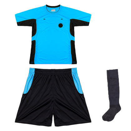 Arbitre-Équipement Soccer Referee Uniform - Blue