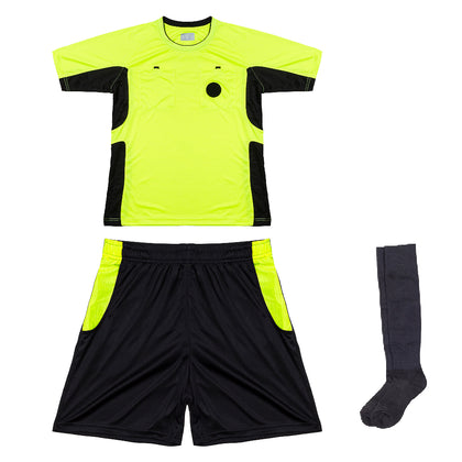 Arbitre-Équipement Soccer Referee Uniform - Yellow