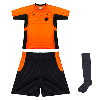 Arbitre-Équipement Soccer Referee Uniform - Orange