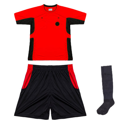 Arbitre-Équipement Soccer Referee Uniform - Red