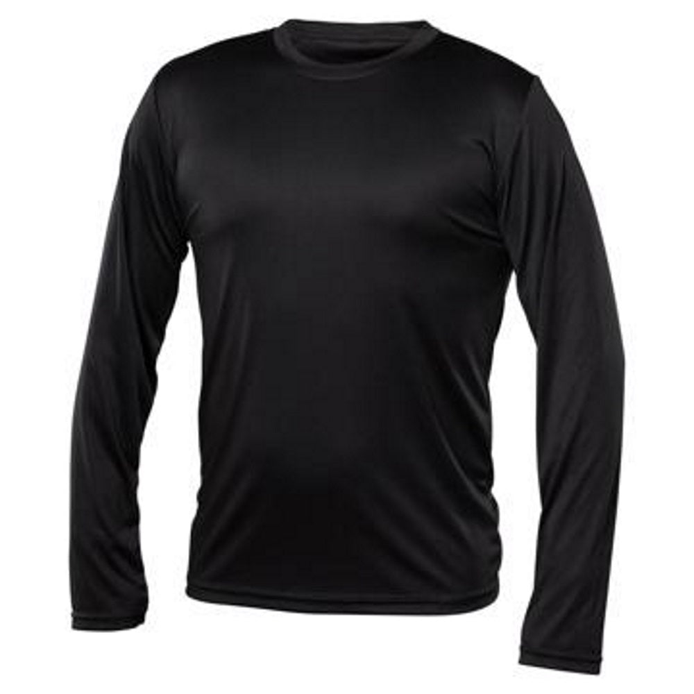 Men Long Sleeve Under Shirt - Black