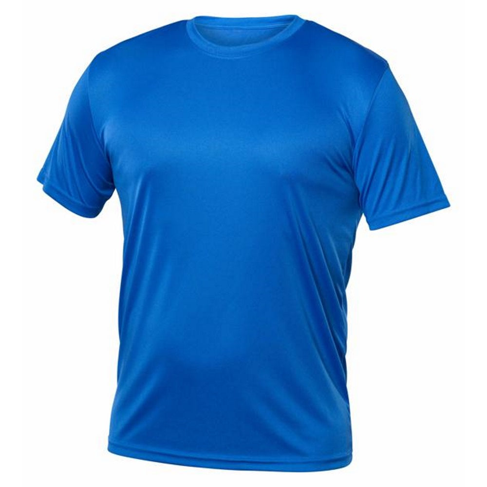 Men Short Sleeve Under Shirt - Royal