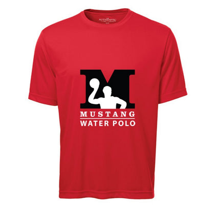 Waterpolo Mustang Official Short Sleeves Shirt - Red
