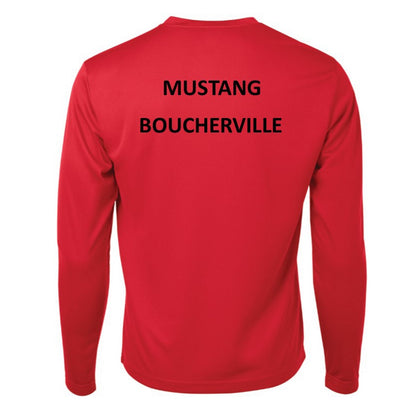 Mustang Official Long Sleeves Shirt - Red