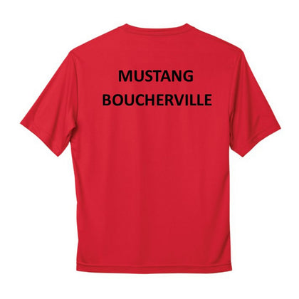 Mustang Official Short Sleeves Shirt - Red