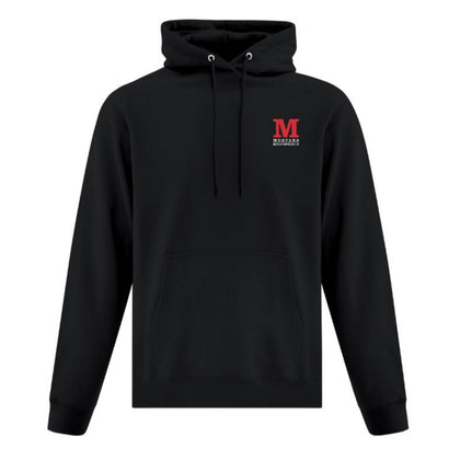 Mustang Official Hooded Sweatshirt - Black