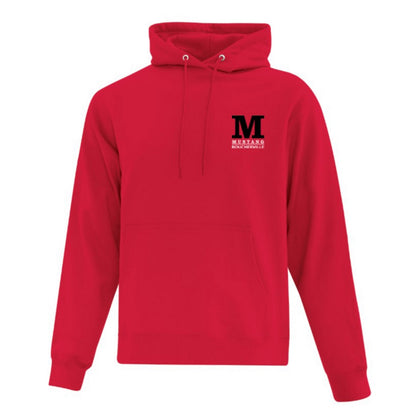 Mustang Official Hooded Sweatshirt - Red