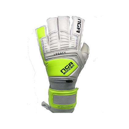 Legacy Goal Keepers Gloves - NGA - White/Yellow