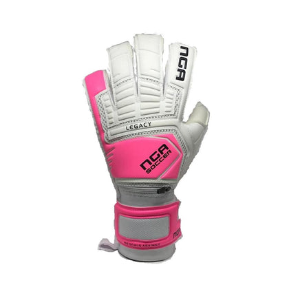 Legacy Goal Keepers Gloves - NGA - White/Pink