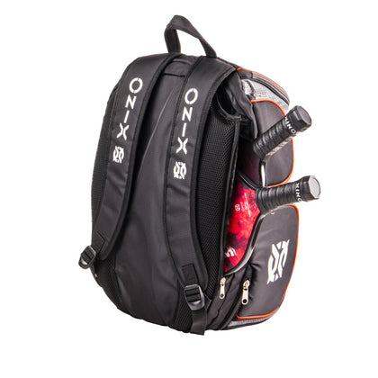 ONIX Pickleball Backpack - Black/Orange