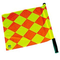 Pair of Quadro I b+d Assistant Referee Flags