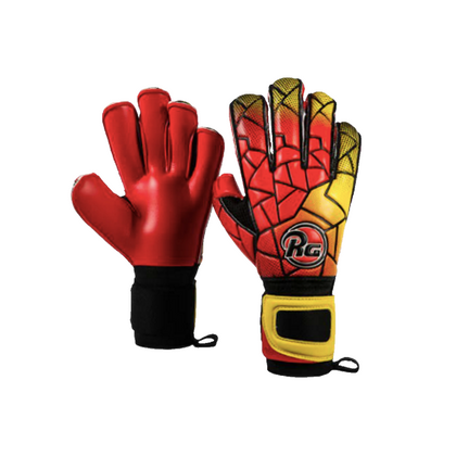 Dreer Gaea Goal Keepers Gloves - RG - Red/Yellow