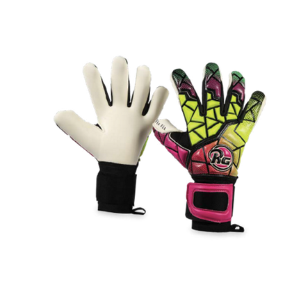 Dreer Goal Keepers Gloves - RG - Pink/Green/Yellow