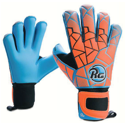 Dreer Oren Goal Keepers Gloves - RG - Orange/Blue