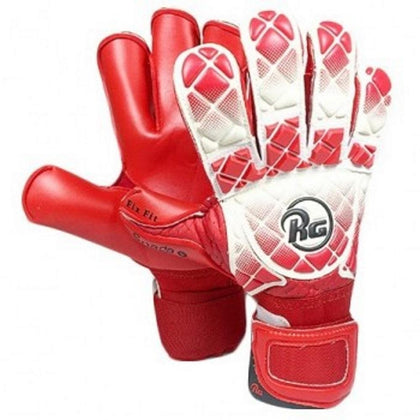 Snaga Goal Keepers Gloves - RG - Red/White