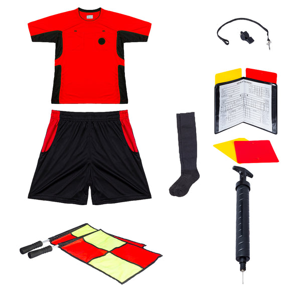 Basic Combo for Soccer Referees - Red