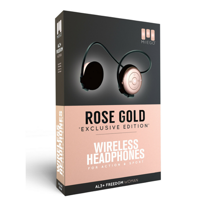 Miiego AL3+ Freedom for Woman Wireless Headphone RoseGold