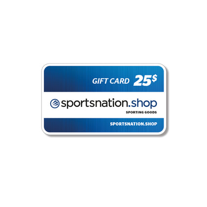 PROMO-$25 Gift card - SPORTSNATION.SHOP