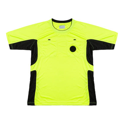 Arbitre-Équipement Soccer Referee Jersey - Yellow