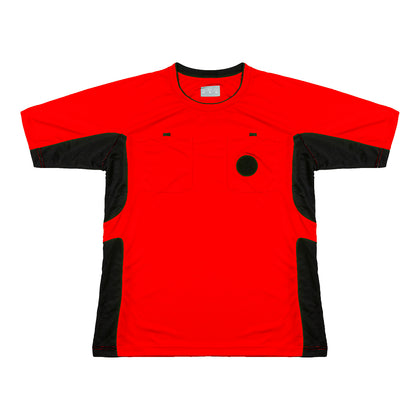 Arbitre-Équipement Soccer Referee Jersey - Red