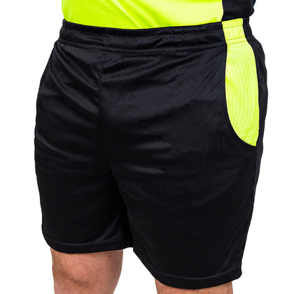 Arbitre-Équipement Soccer Referee Shorts - Yellow