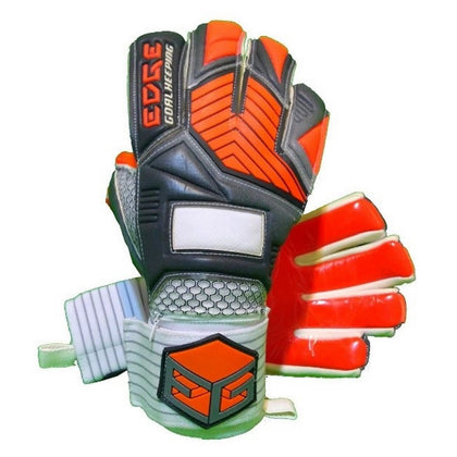 Silver Goal Keepers Gloves - EDGE