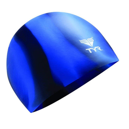 TYR Graphic Multi Silicone Swimming Cap