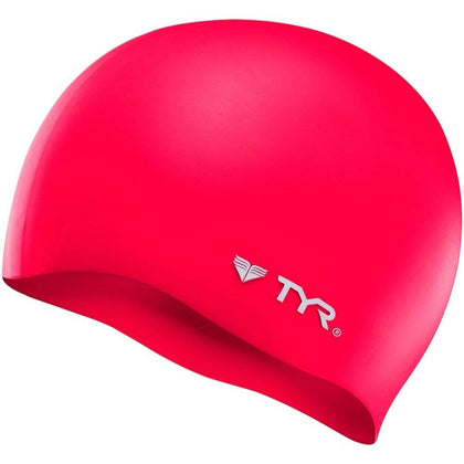 TYR Wrinkle-Free Silicone Swimming Cap