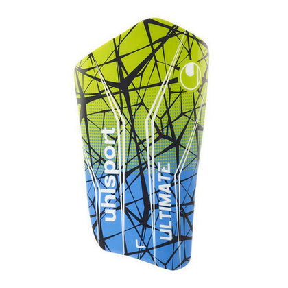 Uhlsport Ultimate Soccer Player Shin Guards - Blue/Green/Black