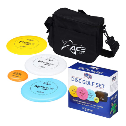 Prodigy ACE Discgolf Starter set - Bag and 3 discs