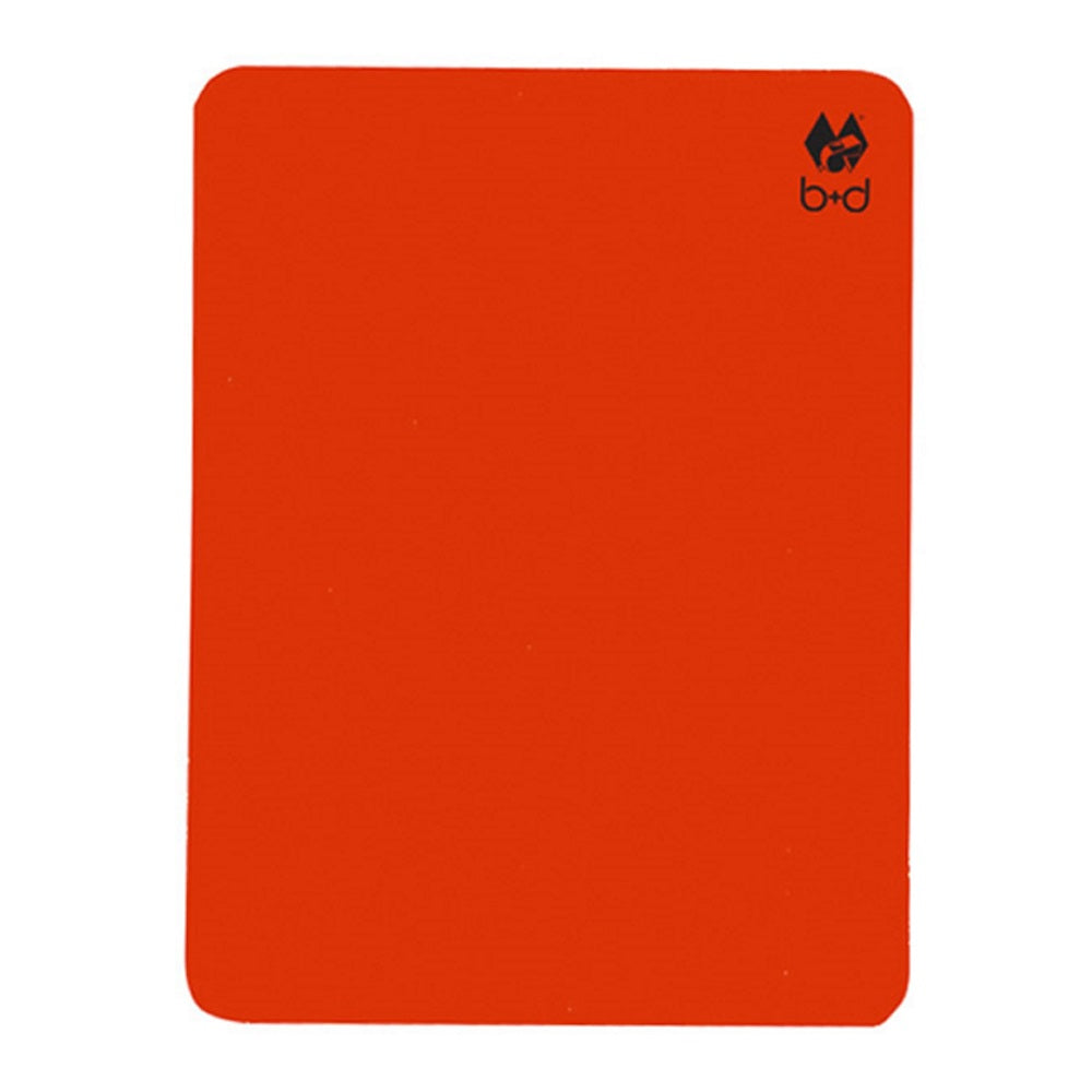 b+d Referee Card
