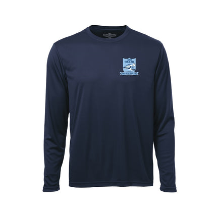 Soccer Boucherville Long Sleeves Shirt - Navy