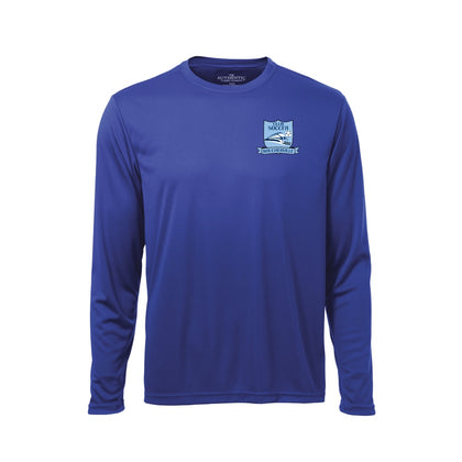 Soccer Boucherville Long Sleeves Shirt - Royal